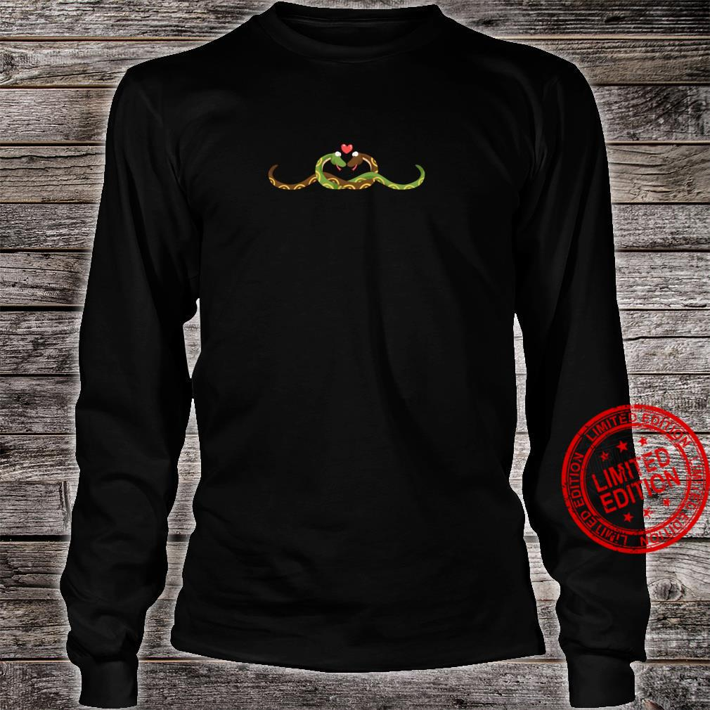 SNAKE Couples Wedding Anniversary Valentines Him Her Shirt long sleeved