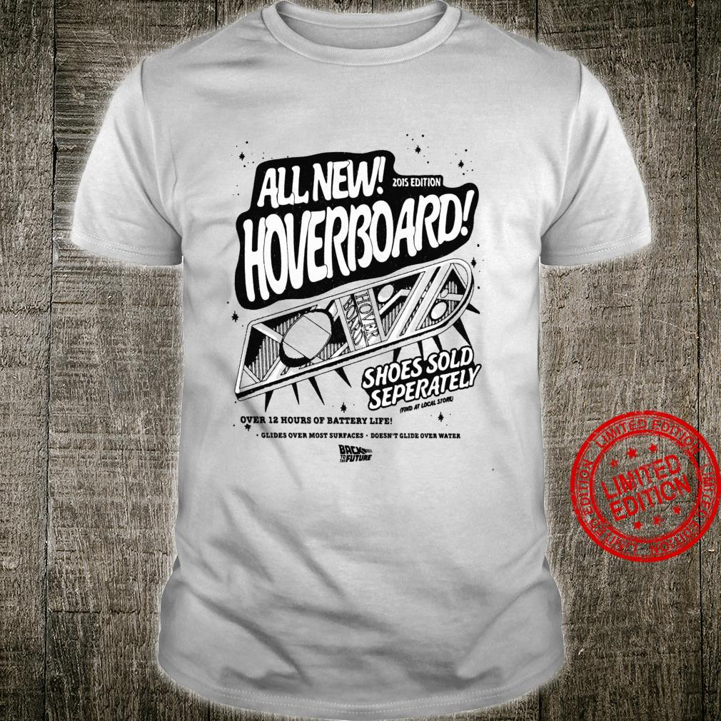 Back To The Future All New Hoverboard Flyer Langarmshirt Shirt