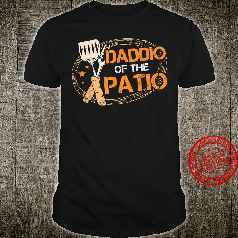 Daddio Of The Patio Grilling Sausage BBQ Barbecue Top Grill Shirt